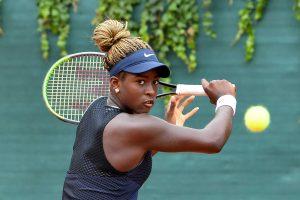 La statunitense Clervie Ngounoue, nata il 19 luglio 2006 a Washington, è in semifinale al Trofeo Bonfiglio (Foto Francesco Panunzio)